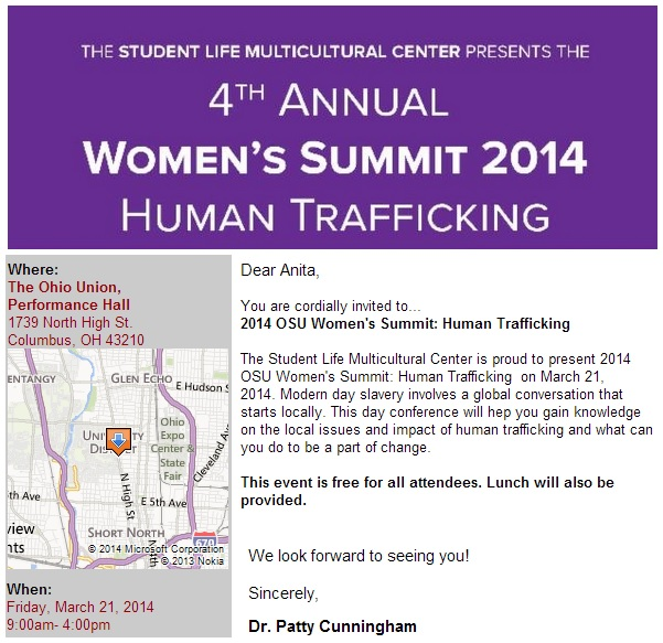 women's summit 2014 march