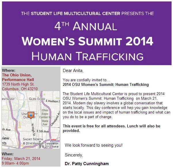 women's summit 2014 march