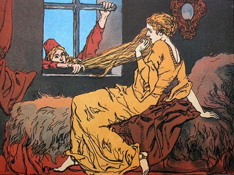 Rapunzel by Ernst Liebermann (1922)