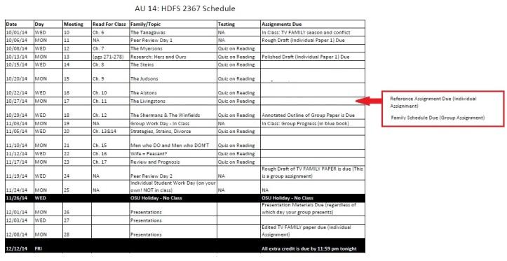 schedule au14 mon wed 2367 updated 10_22_2014