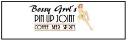 bossy grrls pin up joint logo